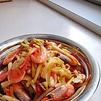 北极虾试用报告二——白菜炒北极虾