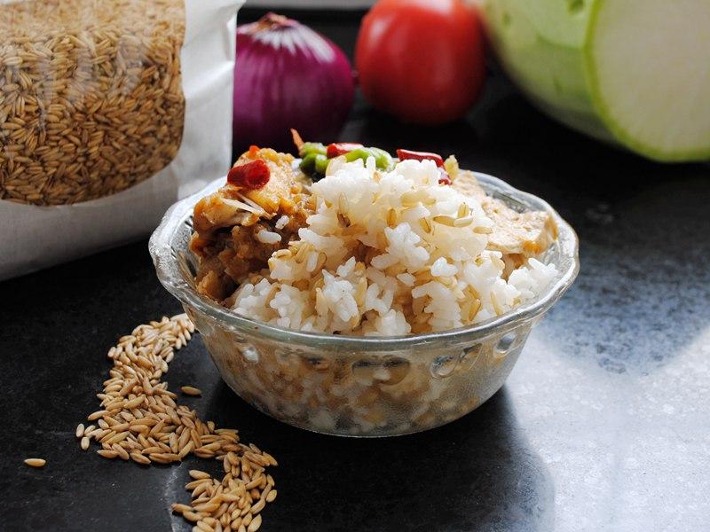 米饭做小动物造型