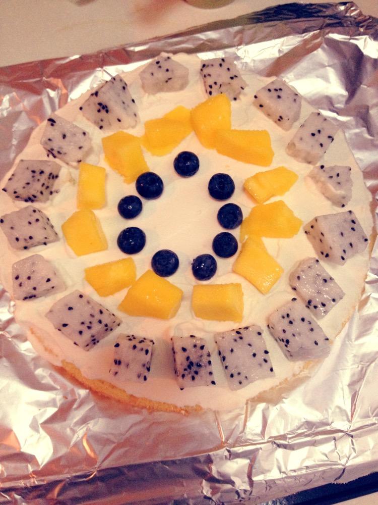 蛋糕的简单装饰的做法步骤