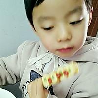 芦笋鸡蛋卷(棒棒糖版)#嘉宝笑容厨房#的做法图解13