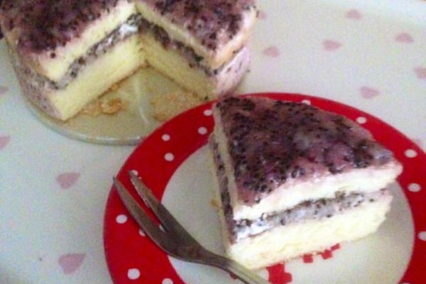 火龙果巧克力酱蛋糕的做法