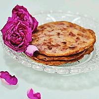 玫瑰花早餐饼