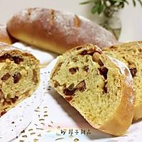 """红糖酸奶养生面包~红枣核桃蔓越莓统统都有#享""""美""""味#"""