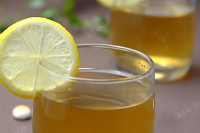 柠檬蜂蜜绿茶