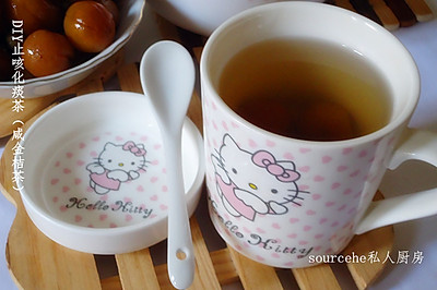 DIY止咳化痰茶