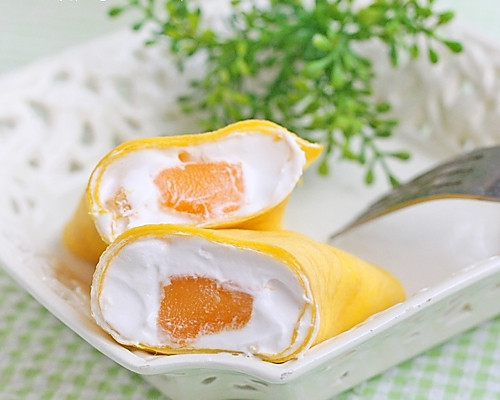 黄油20克 糖20克 鲜奶油100ml 芒果3-4个 芒果班戟的做法步骤 小贴士