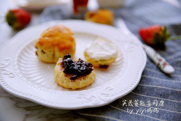 英式蔓越莓司康