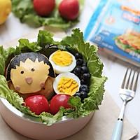 超可爱小丸子野餐便当#百吉福食尚达人#