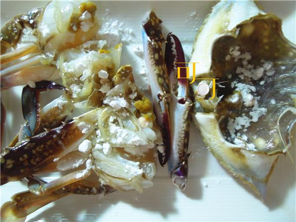 白蟹土豆煲:酸甜开胃蟹煲的做法图解4