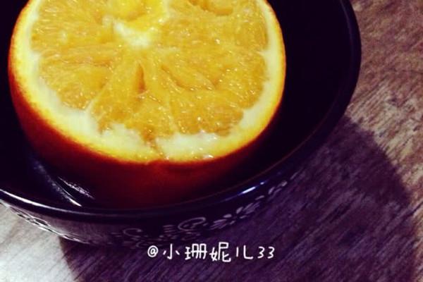盐蒸橙子—止咳化痰超有效!的做法