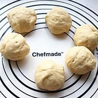香肠沙拉玫瑰花面包#有颜值的实力派#的做法图解7