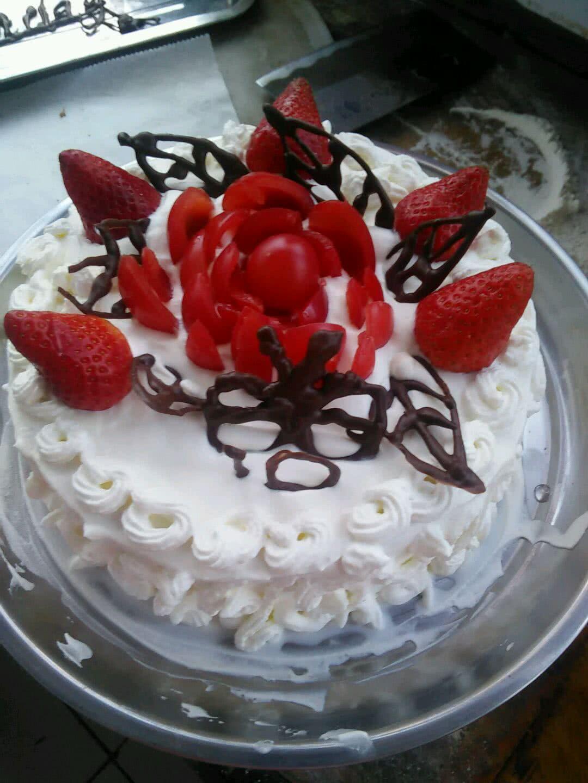 玫瑰蛋糕的做法图解5
