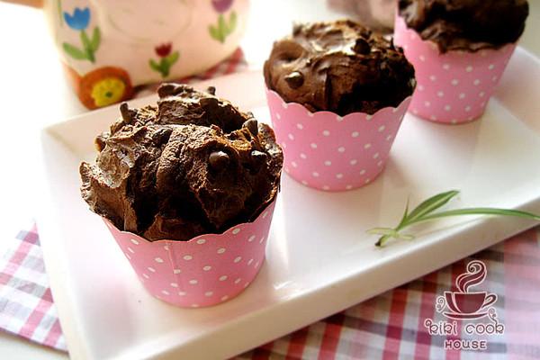 【巧克力玛芬】#长帝烘焙节#的做法