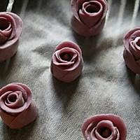 紫薯玫瑰馒头的做法<!-- 图解10 -->
