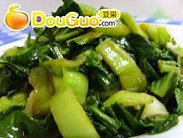 蚝油青菜的做法