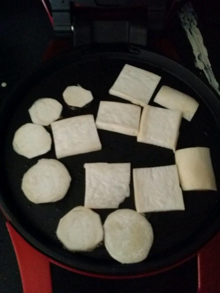 电饼档烤杏鲍菇(无油)的做法图解2