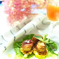 甜辣玉米肉丸子#宜家让家更美味#
