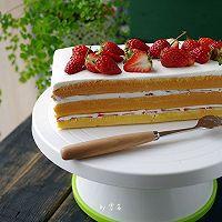 草莓奶油蛋糕#我的烘焙不将就#