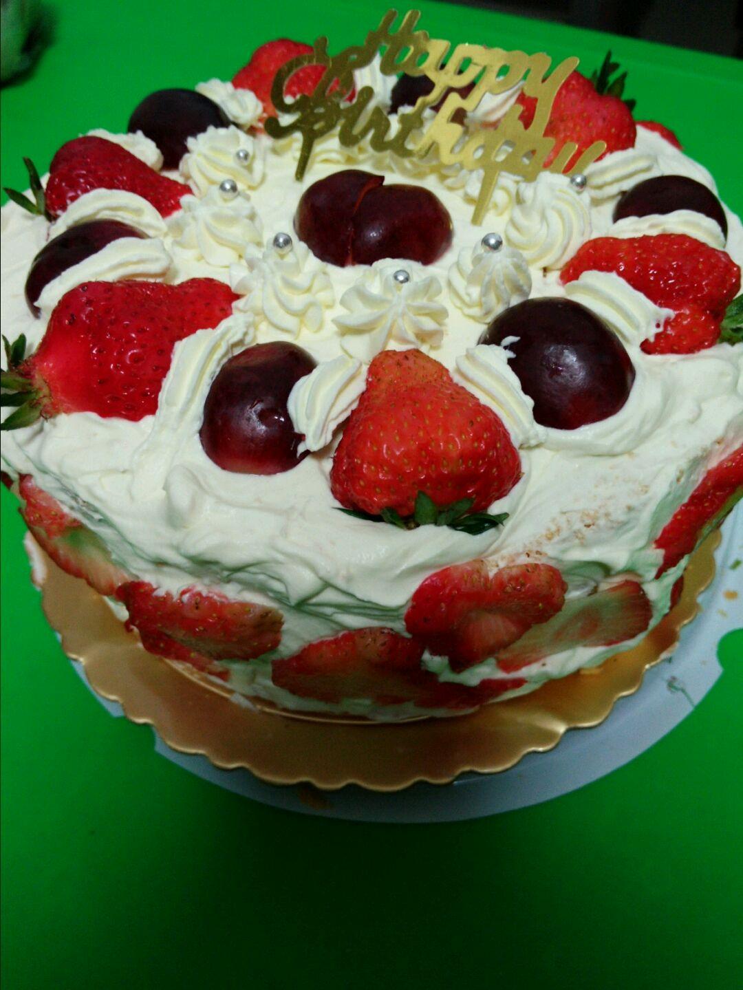 水果蛋糕的做法图解6