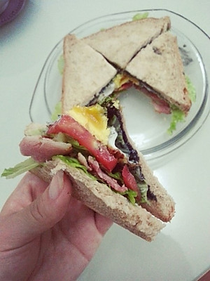 做法步骤 菜谱自制三明治 的所有评论