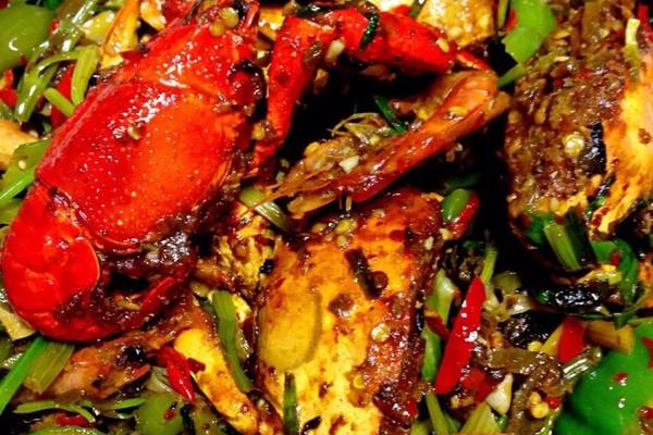 香辣虾蟹的做法_【图解】香辣虾蟹怎么做好吃_眼神薄