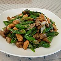 青椒腰果炒牛肉