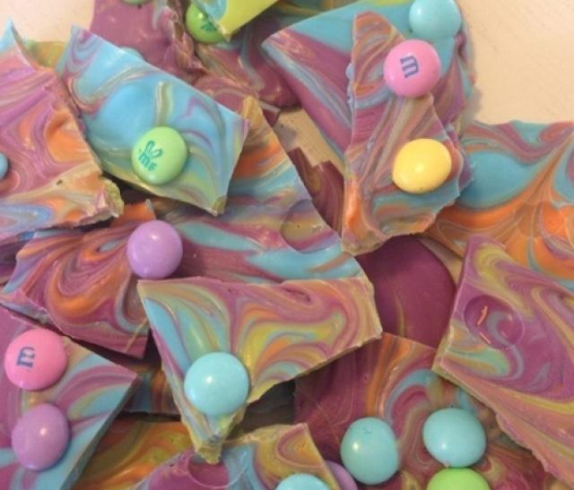 彩色糖果巧克力的做法步骤