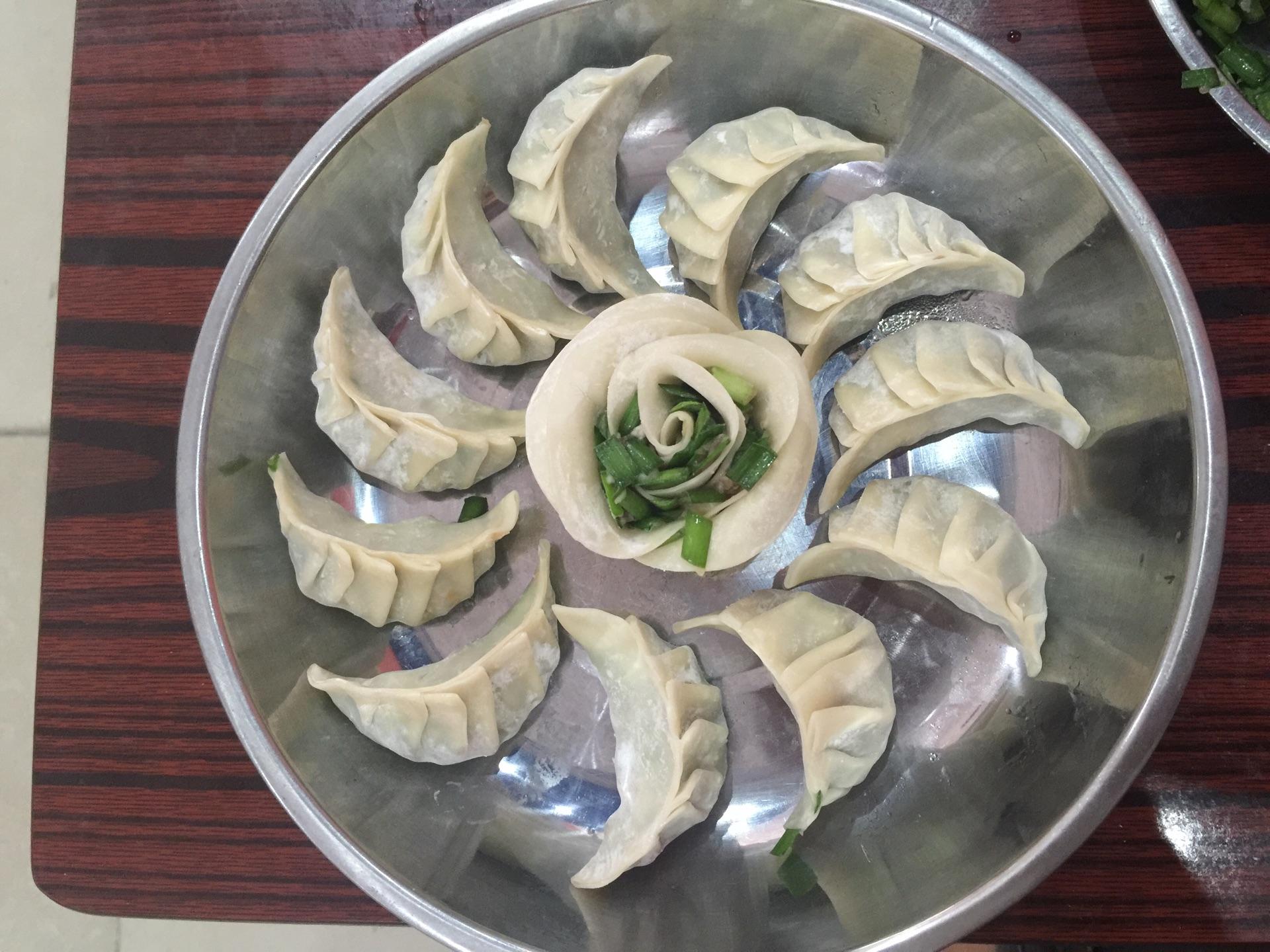 玫瑰花饺子的做法图解6