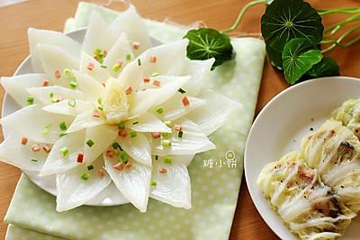 【莲斑白菜包】白菜的三种状态