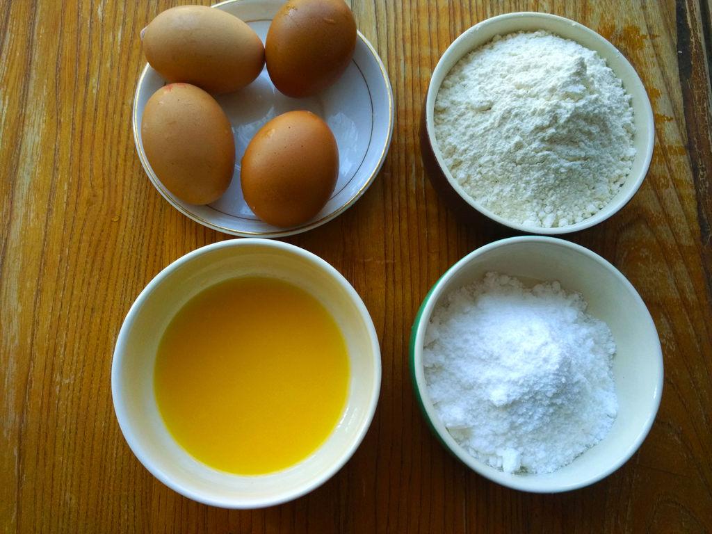电饭锅版海绵蛋糕#苏泊尔电饭锅#的做法
