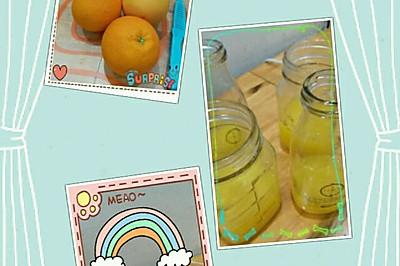 西柚鲜橙汁