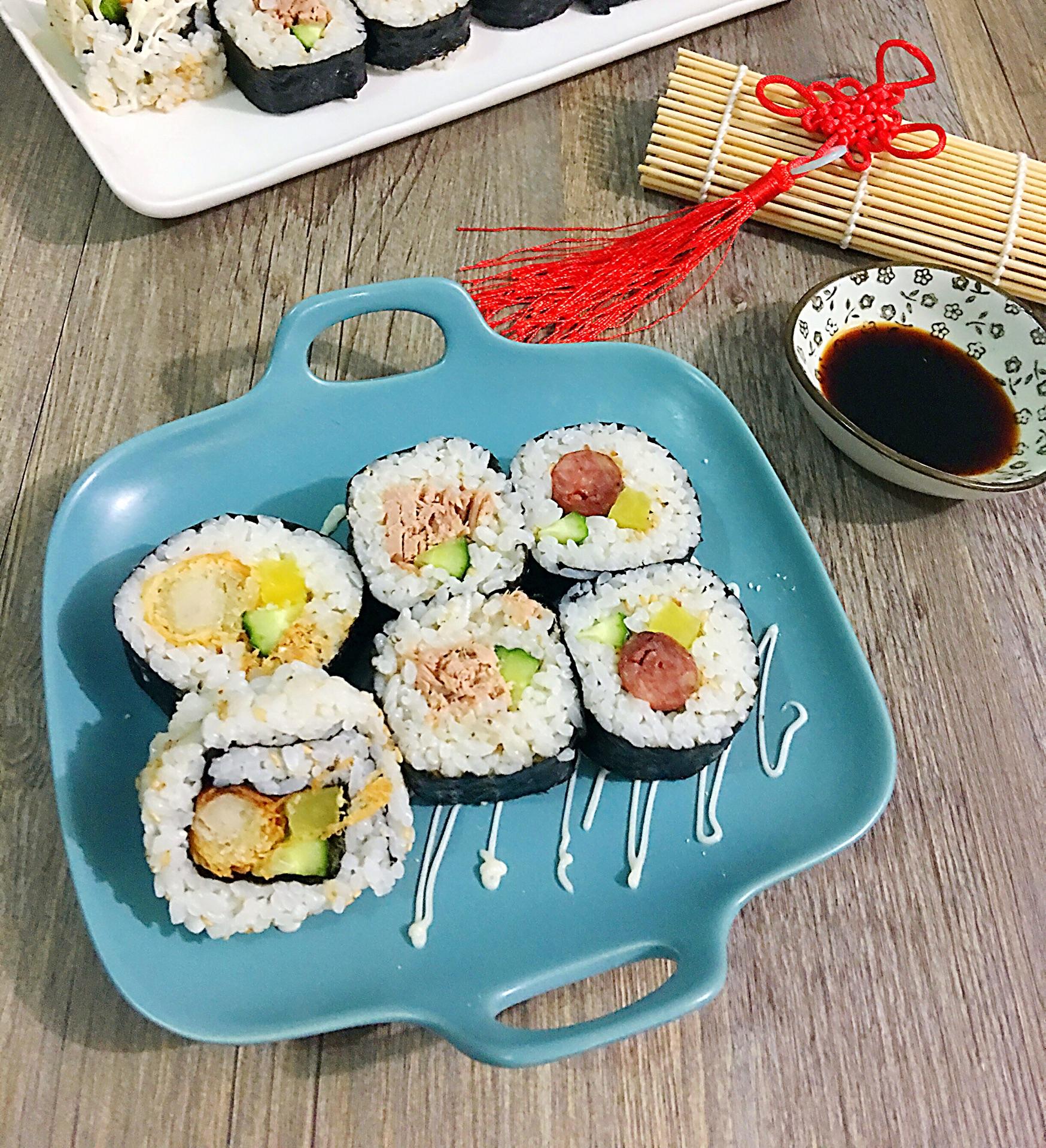 花样寿司的做法图解7