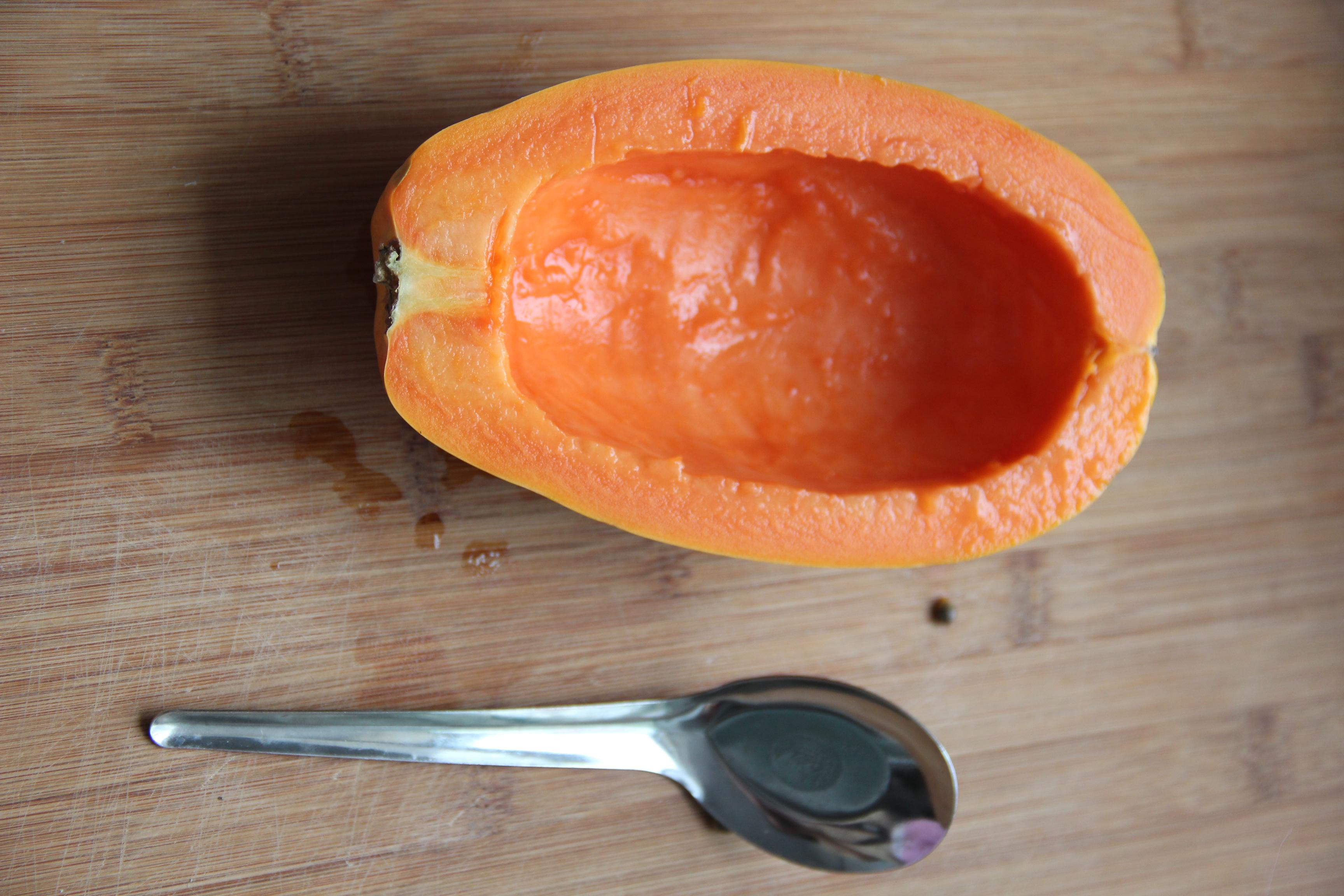 木瓜芦荟养生盅的做法_【图解】木瓜芦荟养生盅怎么做