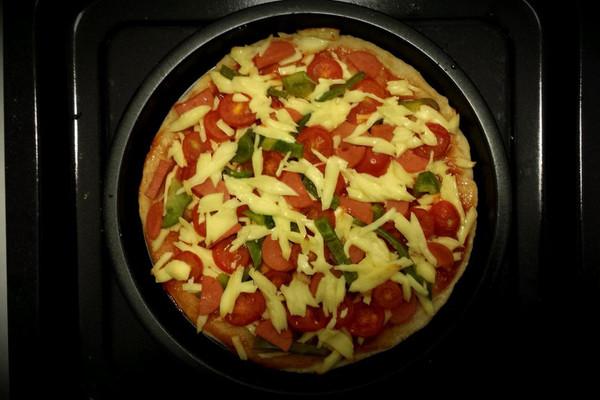 简易披萨的做法_【图解】简易披萨怎么做如何做好吃