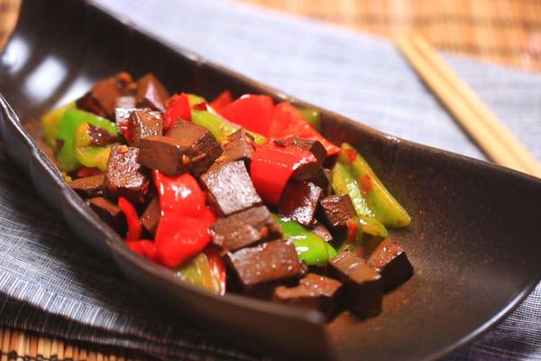 辣炒鸭血——迷迭香的做法