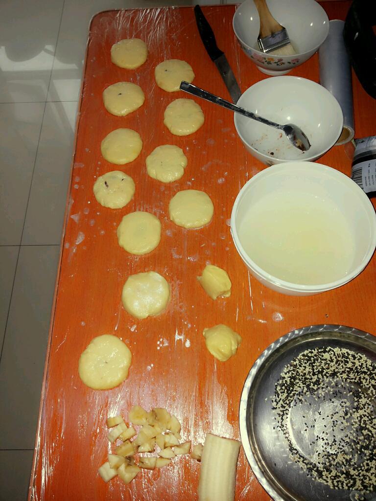 红薯芝麻馅饼的做法_【图解】红薯芝麻馅饼怎么做如何