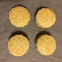 黑芝麻月饼(自制馅)