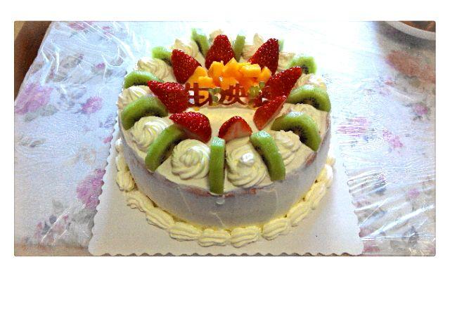 水果生日蛋糕的做法 !