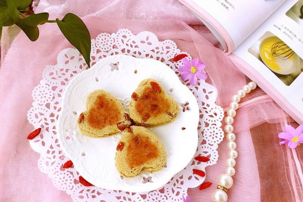 抹茶枸杞蛋糕的做法