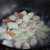 冬瓜肉丸汤的做法图解7