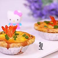 中西结合の鲜虾蛋挞