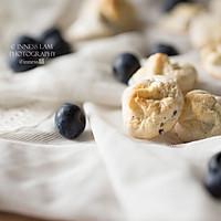 健康小零食【蓝莓酸奶蛋白溶豆】#单挑夏天#