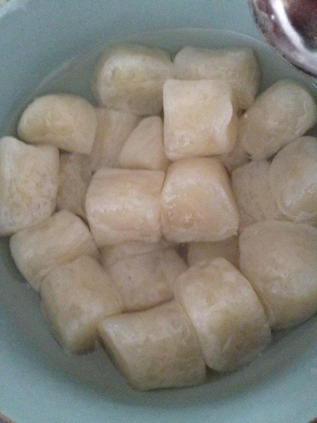 劲道芋圆,面粉木薯粉制作