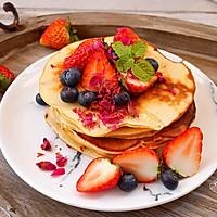 养颜好滋味-玫瑰蜂蜜松饼#洁柔食刻,纸为爱下厨#
