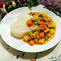 咖喱土豆猪肉盖饭#奇妙咖喱,拯救萌娃食欲#
