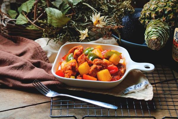菠萝咕噜肉#金龙鱼外婆乡小榨菜籽油、最强家乡菜#的做法