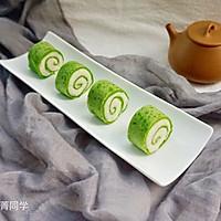 翡翠山药泥卷饼