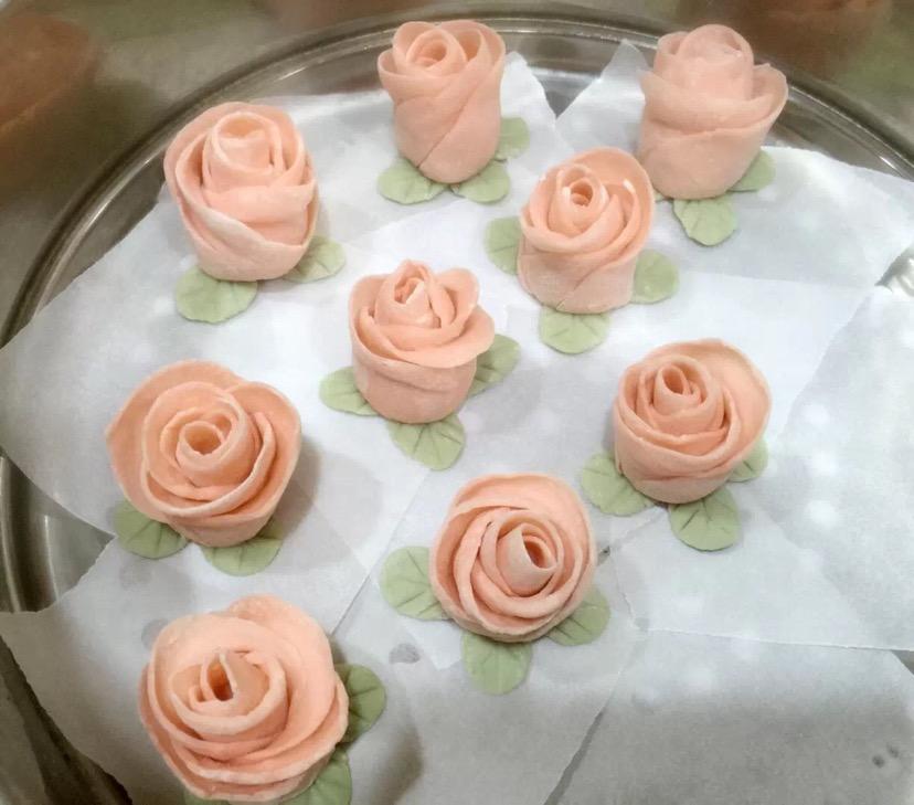 玫瑰花卷的做法图解6