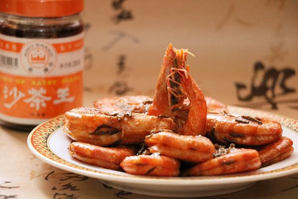 福建沙茶茶香虾