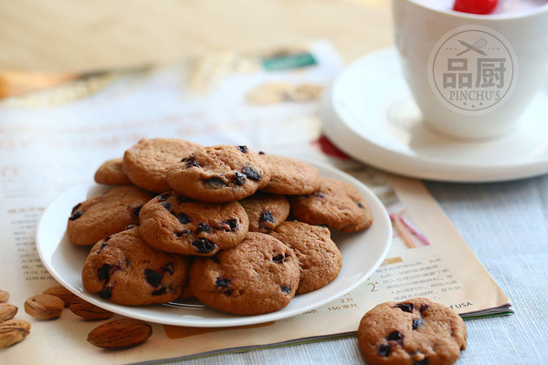 烘焙饼干背景广告素材